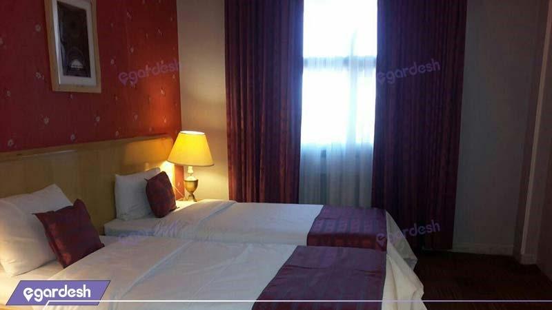 اتاق دو تخته هتل بین المللی قم