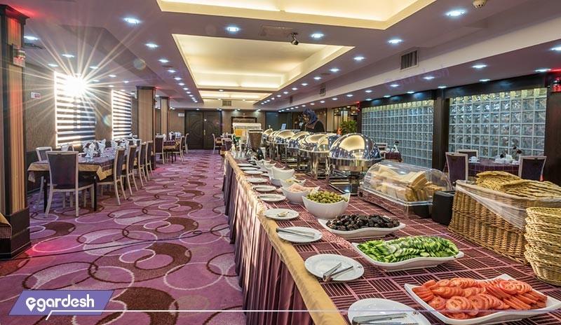 رستوران هتل کریمه
