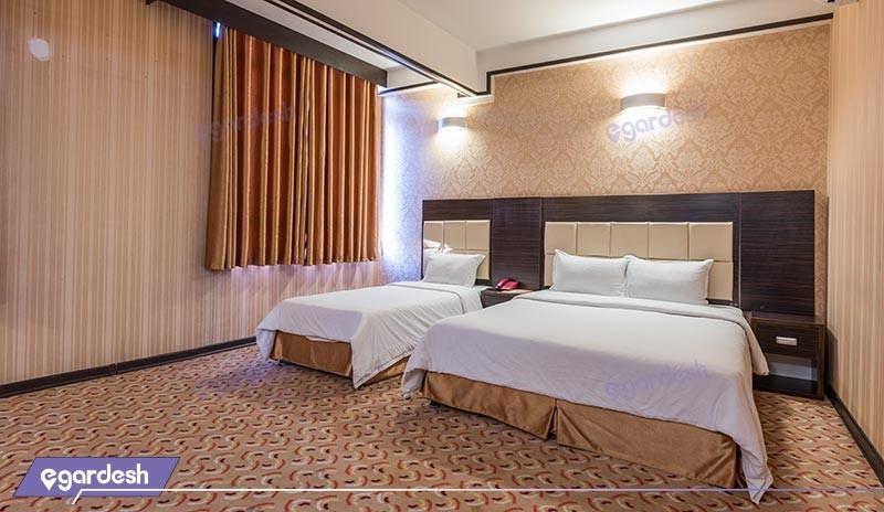 اتاق سه تخته هتل کریمه
