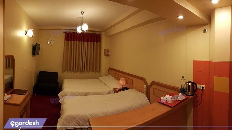 اتاق سه تخته هتل المپیک قم