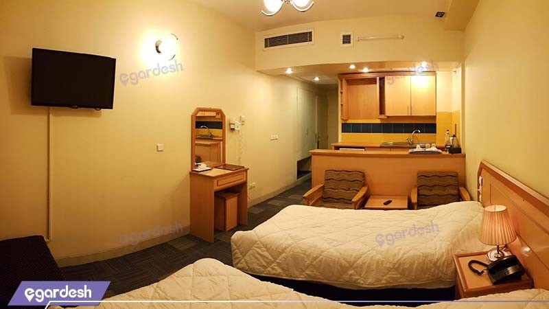 اتاق دو تخته هتل المپیک قم