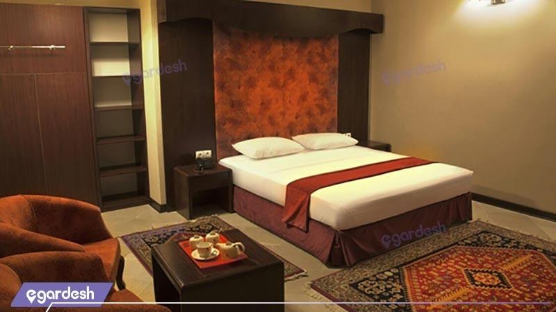 اتاق دبل دو تخته هتل صادقیه