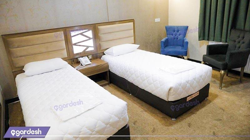 اتاق دو تخته توئین هتل هیلان