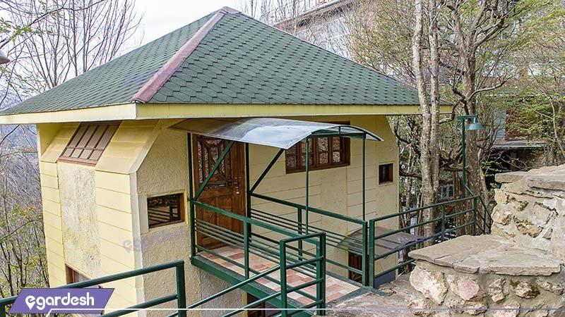 نمای ساختمان هتل بام سبز