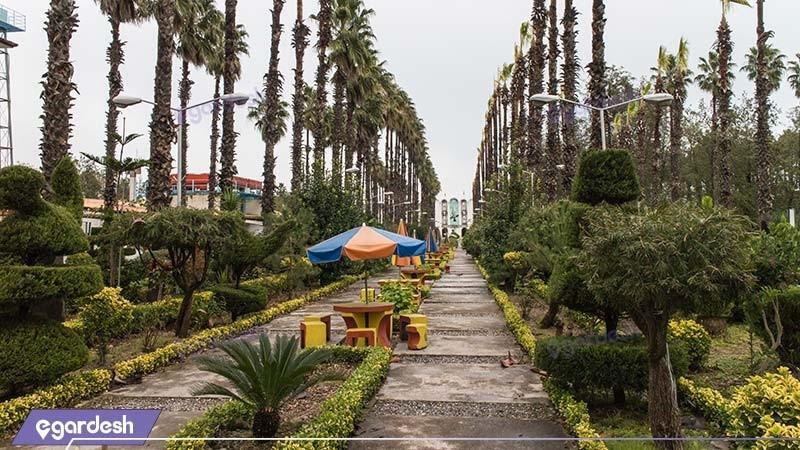 باغ هتل آپارتمان ساحلی کوثر