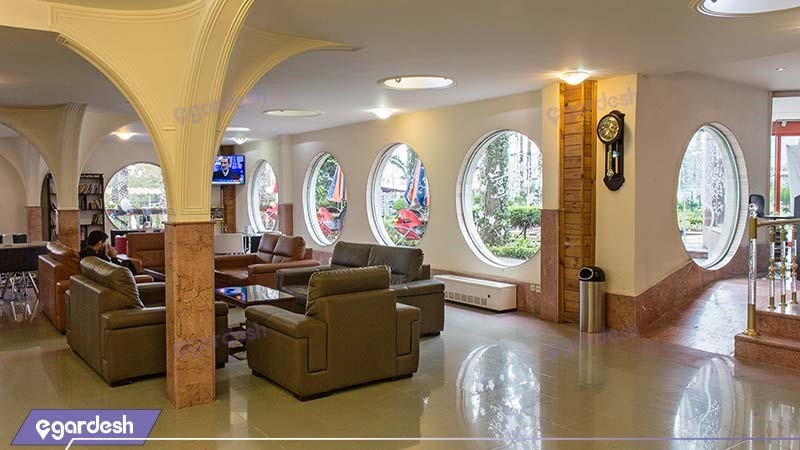 لابی هتل آپارتمان ساحلی کوثر