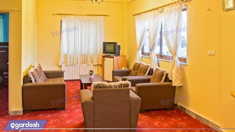 سوئیت دو خوابه پنج نفره هتل بزرگ ملکشاه
