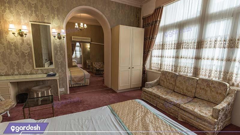 سوئیت قدیم هتل پارسیان آزادی رامسر