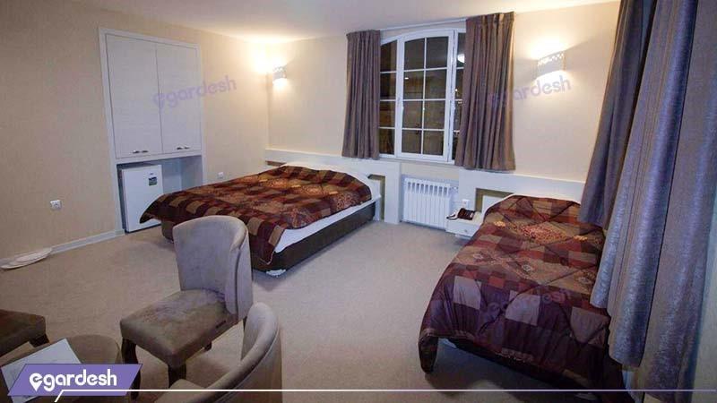 اتاق سه نفره هتل پامچال رشت