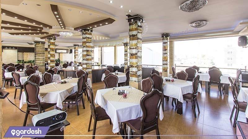 رستوران هتل شبستان