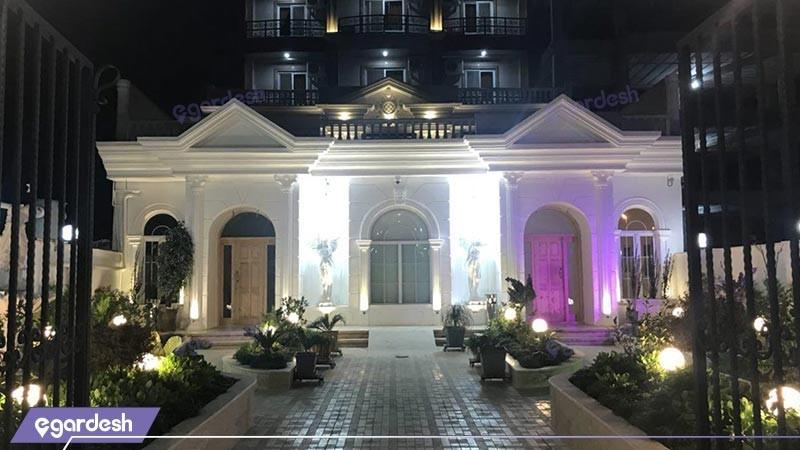 نمای ساختمان هتل بهار
