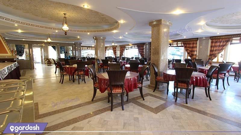 رستوران هتل ساحلی پدیدار خزر