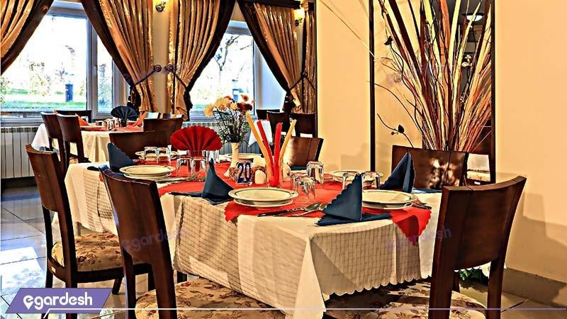رستوران هتل جهانگردی سنندج