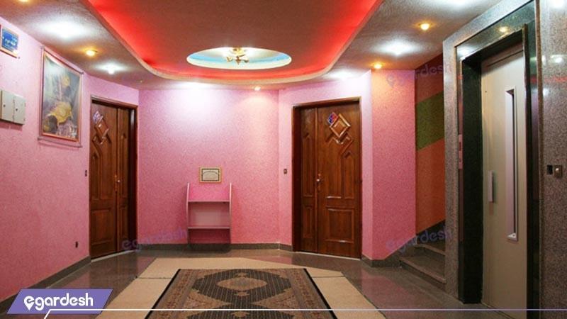 راهرو هتل اترک
