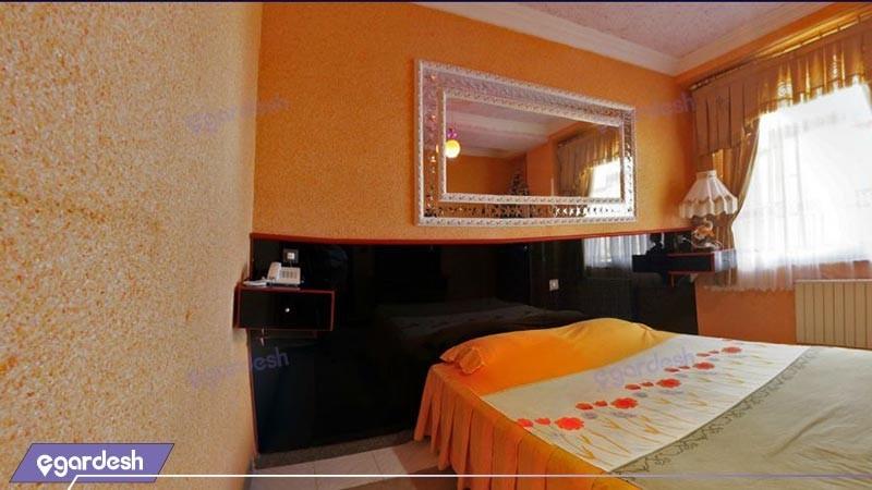 اتاق دو تخته دبل هتل اترک