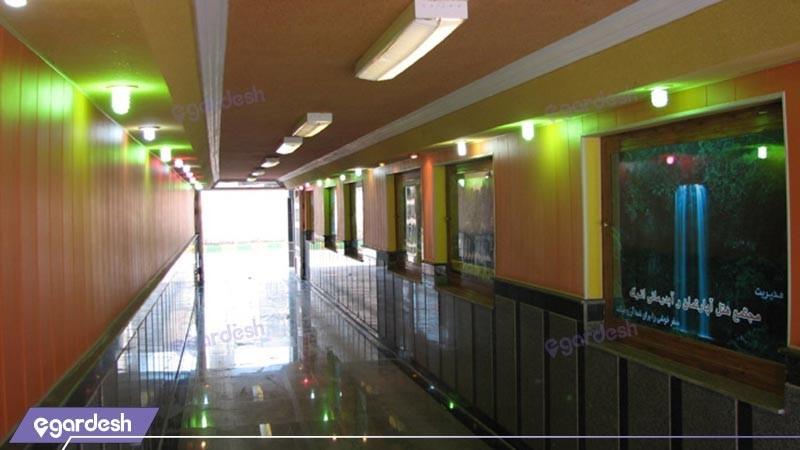 ورودی سالن هتل اترک
