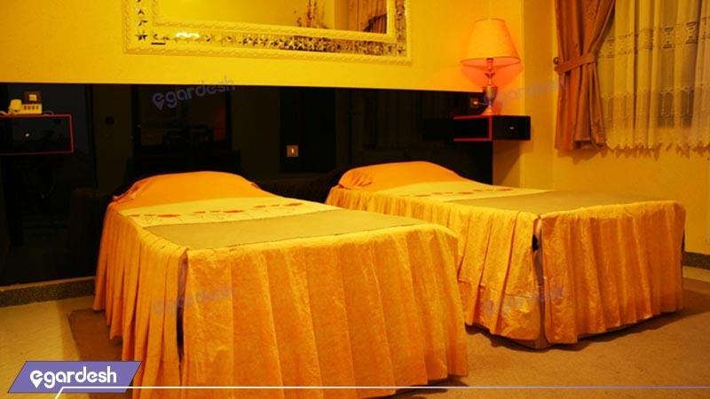اتاق دو تخته توئین هتل اترک