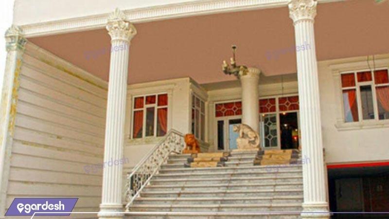 ورودی هتل اورانوس