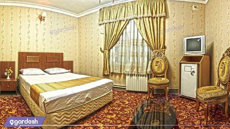 اتاق دو تخته دبل  هتل بوستان