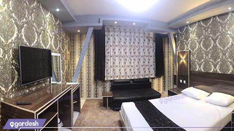 اتاق دو تخته دبل  رویال هتل بوستان