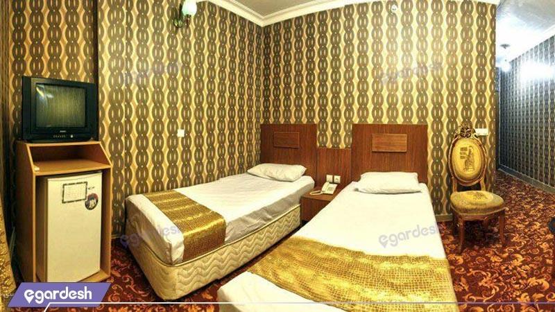 اتاق دو تخته توئین هتل بوستان