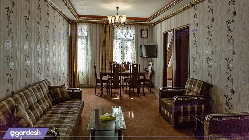 آپارتمان سه خوابه رویال شش نفره هتل آپارتمان ارشاد