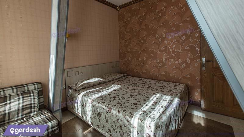 آپارتمان دو خوابه رویال چهار نفره هتل آپارتمان ارشاد