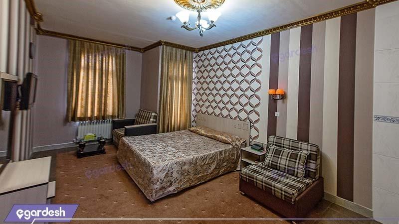 سوئیت سه نفره هتل آپارتمان ارشاد