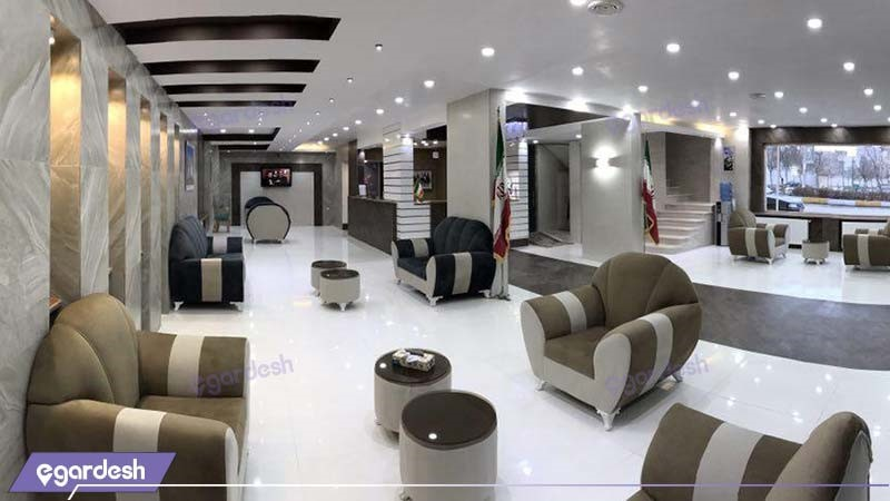 لابی هتل خلیج فارس رضوان