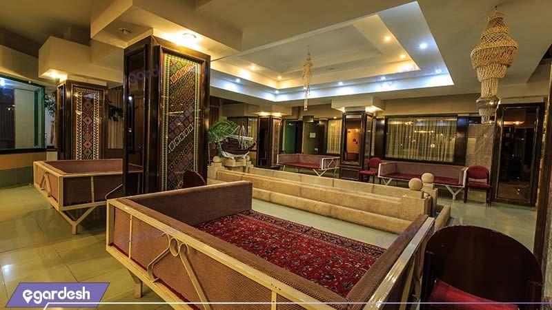 چای خانه سنتی هتل بین المللی لاله سرعین