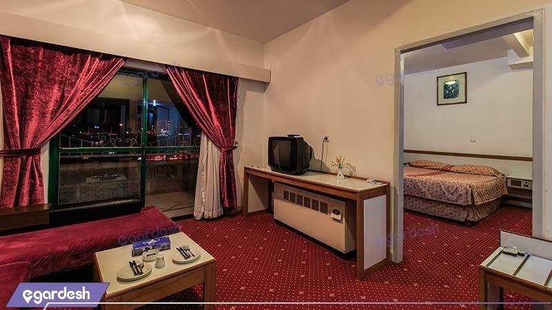 اتاق دبل vip هتل بین المللی لاله سرعین