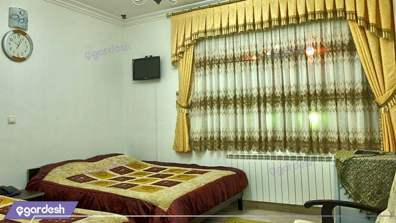 اتاق چهار نفره هتل صحت