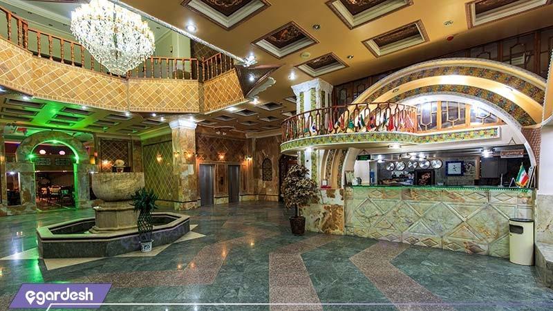 پذیرش هتل نوید