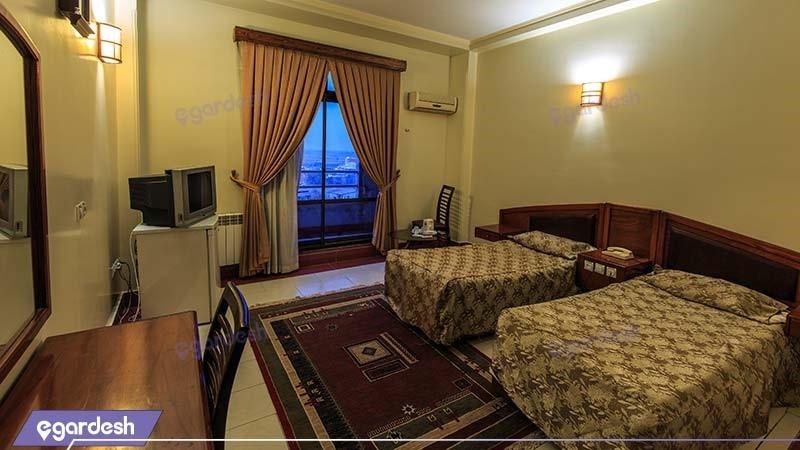 اتاق دو تخته هتل نوید