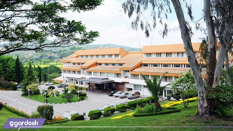 نمای ساختمان هتل جنگلی سالار دره