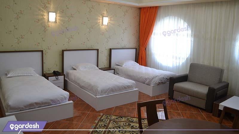اتاق سه نفره هتل گوت که مال