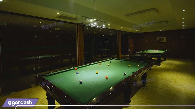 سالن بیلیارد هتل پولادکف