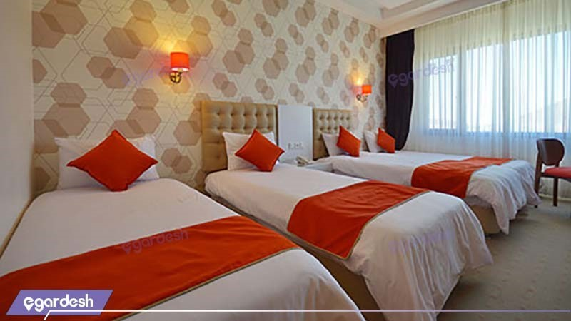 اتاق چهارتخته هتل پولادکف