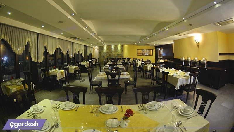 رستوران هتل پولادکف