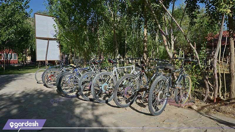 دوچرخه سواری هتل پولادکف