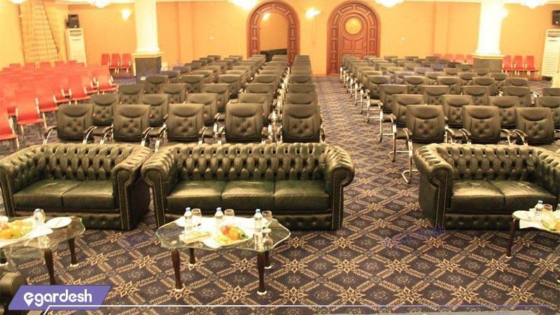 سالن کنفرانس هتل بزرگ پارمیدا