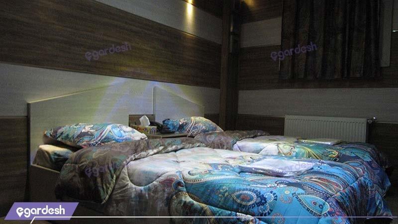 اتاق دو تخته هتل رویال