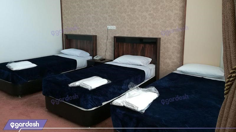 اتاق سه تخته هتل امیرکبیر