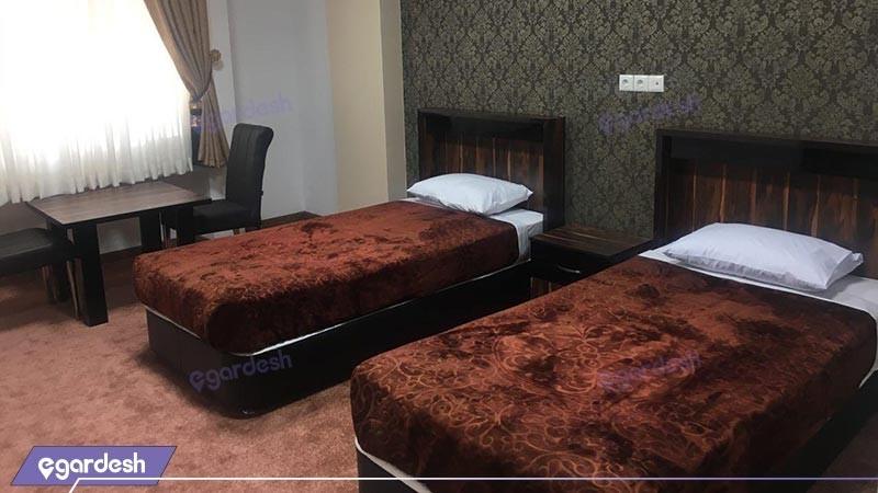 اتاق دو تخته توئین هتل امیرکبیر