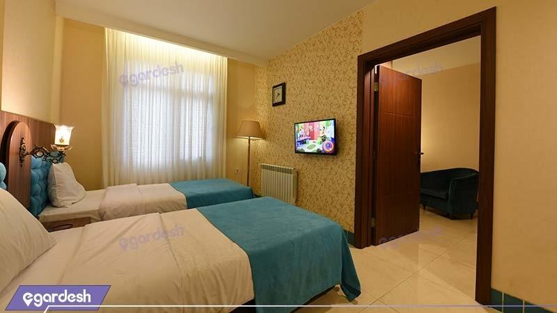 اتاق کانکت هتل ارگ