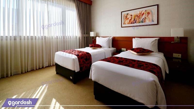 اتاق دو تخته هتل الیزه
