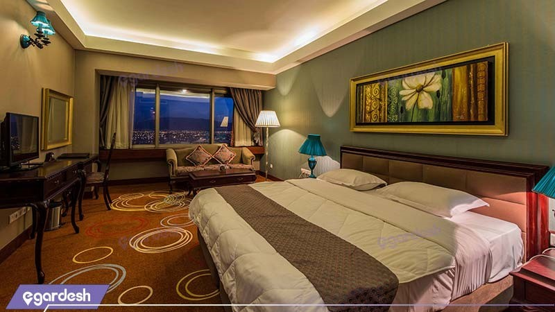 اتاق کانکت هتل بزرگ شیراز