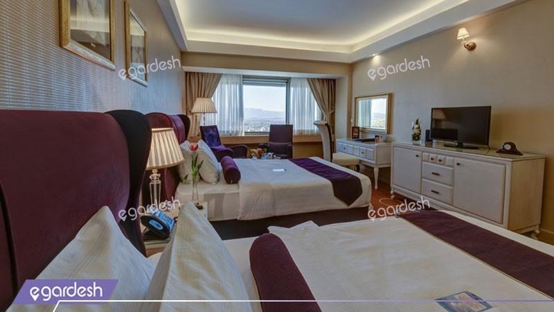 اتاق دو تخته توئین هتل بزرگ