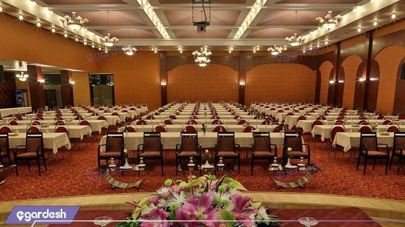 سالن کنفرانس هتل هما شیراز