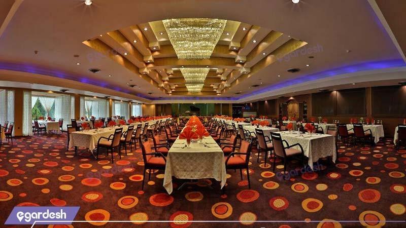 رستوران هتل هما شیراز